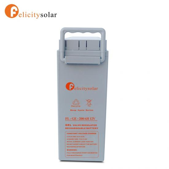 Long Lifespan Front Terminal Battery With Good Quality